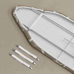 snel spanners voor een strijkplankovertrek